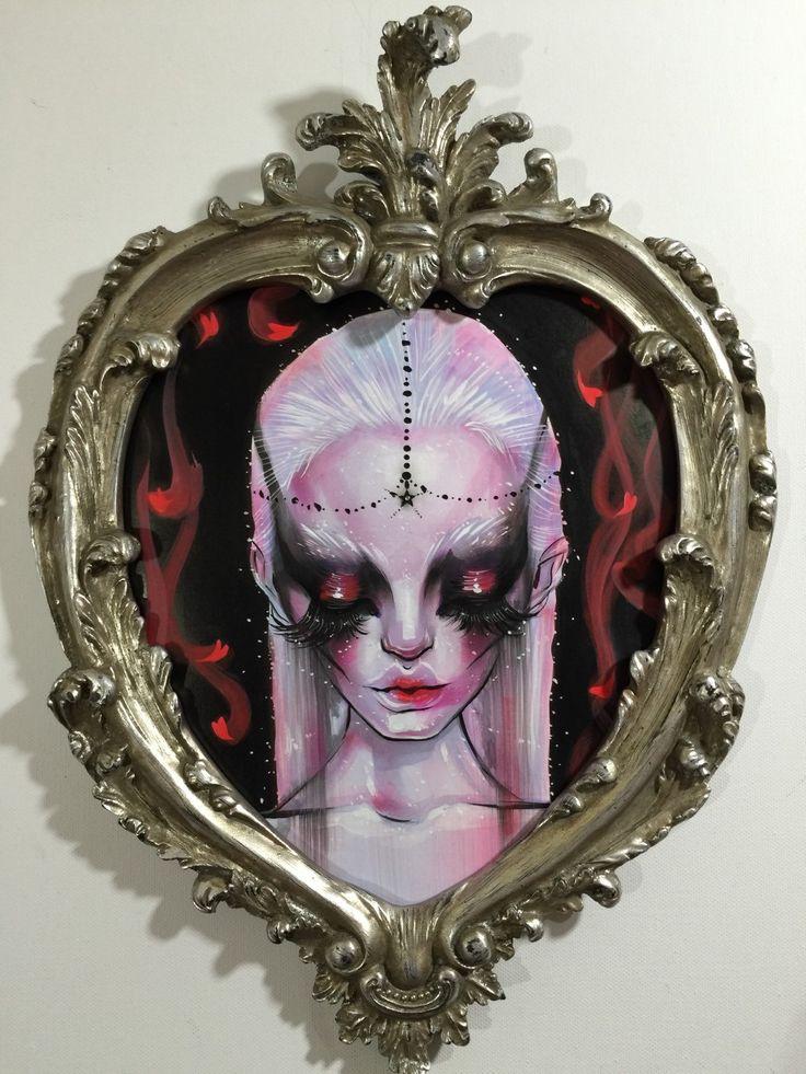 Silver Lily. Original Sleeping Beauty by Dustin by dustinbailard