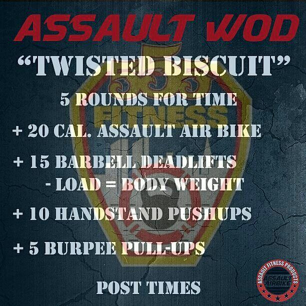TRAIN HARD DO WORK  - #a555aultwod from @assaultairbike - USE OUR FREE APP TO TRACK YOUR WORKOUTS ________________________________________  Want to be featured? Show us how you train hard and do work   Use #555fitness in your post. You can learn more about us and our charity by visiting  WWW.555FITNESS.ORG  #firefighterfitness #buildingastrongerbrotherhood #pastparallel #damstrong #charity #nonprofit  #trainharddowork