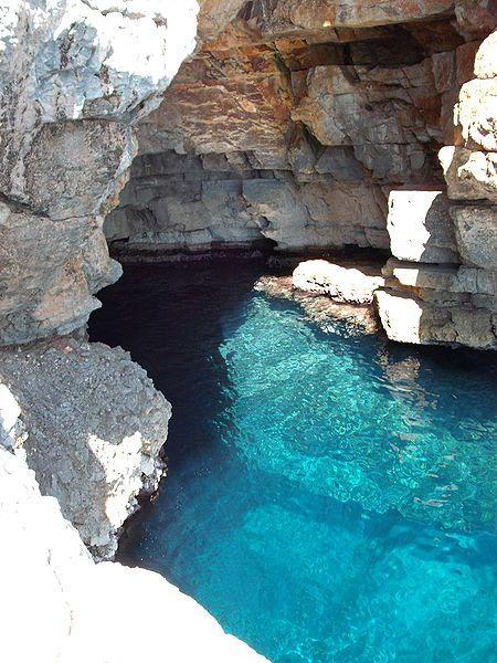 Odysseus Cave, Mljet, Croatia http://www.meetmljet.com/odysseus-cave-island-mljet-croatia.html
