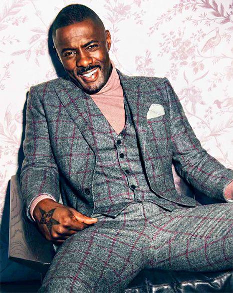 Idris Elba #blackmalefashion
