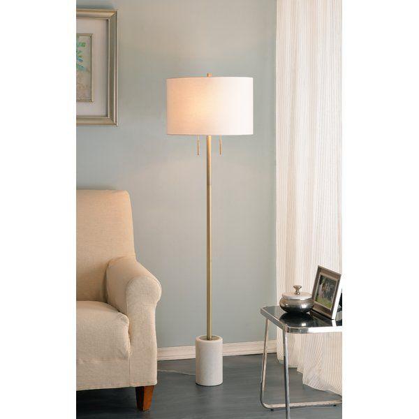 Dametta 62 Traditional Floor Lamp Floor Lamp Traditional Floor Lamps Antique Brass Floor Lamp