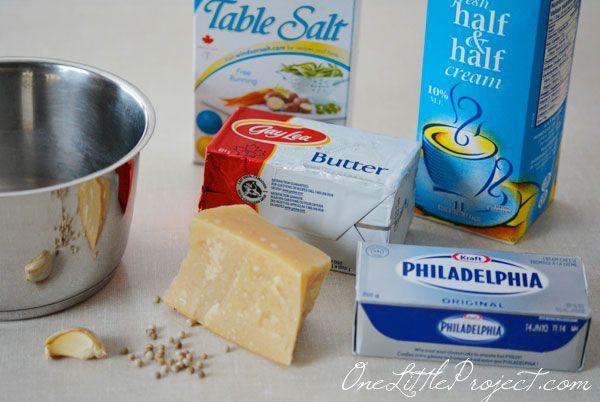 How to make white sauce