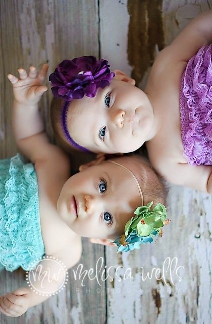 This would be cute with twin sisters or cousins... or in our family my little sister and my niece it would be so cute