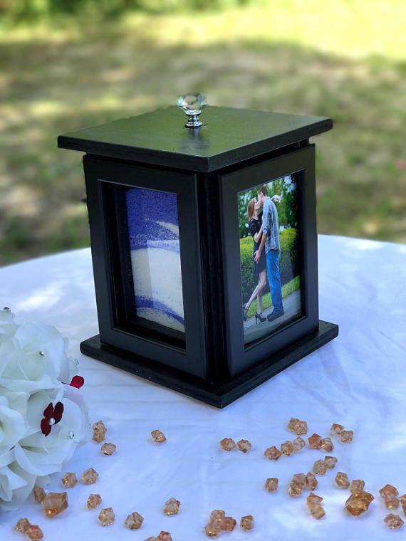 Rotating Wedding Sand Ceremony Photo Box Set