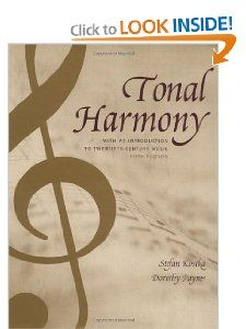 25 tonal harmony pinterest tonal harmony with an introduction to twentieth century music by stefan kostka 337 fandeluxe Images