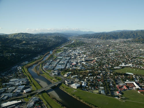 Lower Hutt, where I was born and lived before moving to Australia | Sarah Lamberton