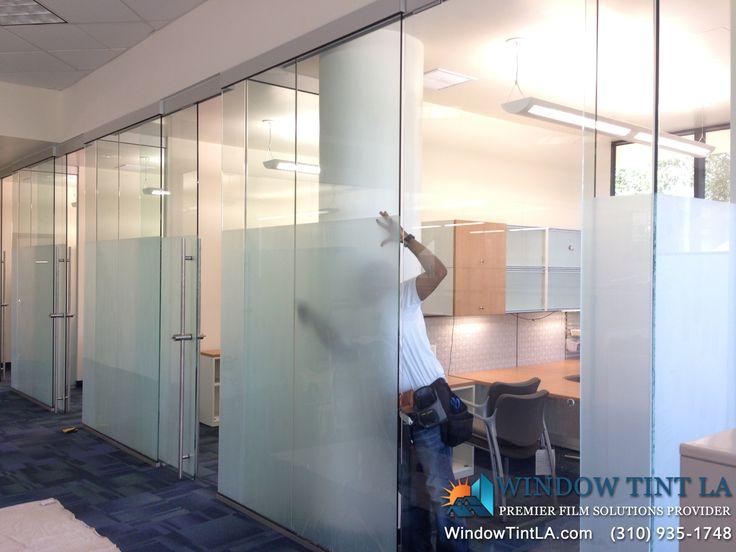 Frost window film for office work pinterest window for Office window design