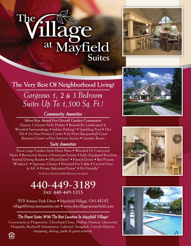 apartment flyer design