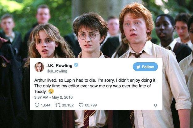 "21 Massive Things J.K. Rowling Has Revealed About ""Harry Potter"" On Twitter"