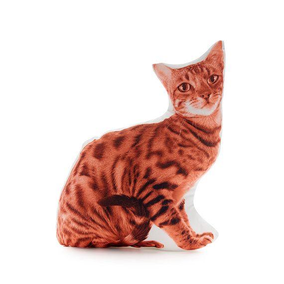 Bengal Tiger Cat Bengal Tiger Tiger Cushion Tiger Pillow