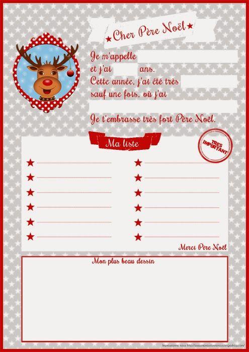 Impressionne nous !: La lettre au Père Noël