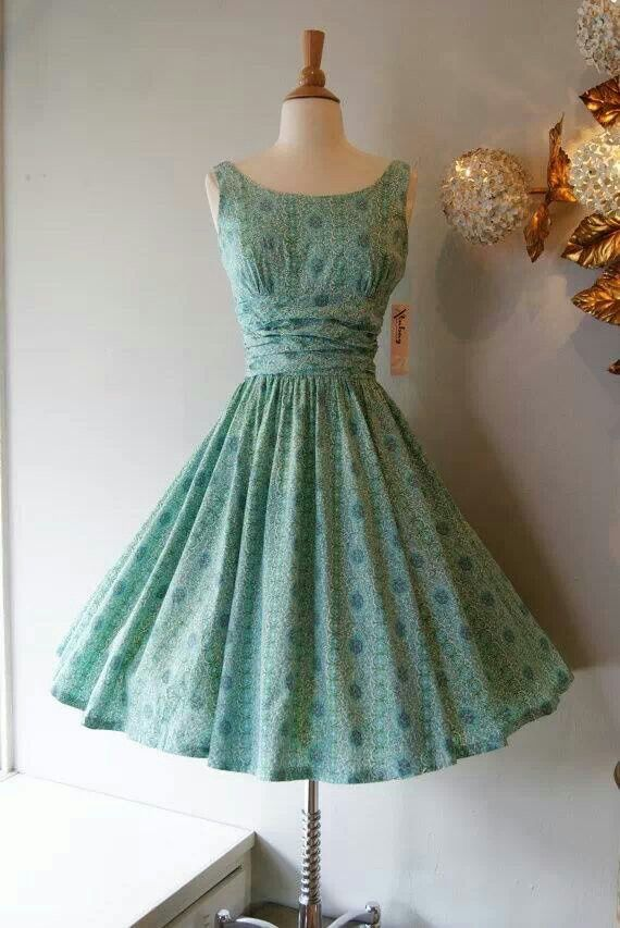 17 Best ideas about 50s Dresses on Pinterest - 1950s fashion ...