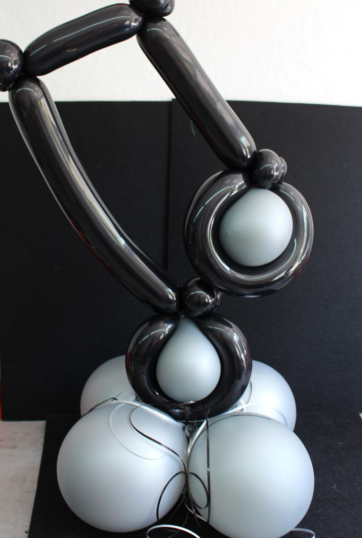 #Luftballondekoration #Luftballon #Music #Notes