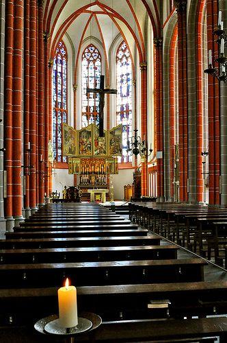 Kranenburg Germany  city pictures gallery : Kaars in St. Petrus en Pauluskerk, Kranenburg, Germany