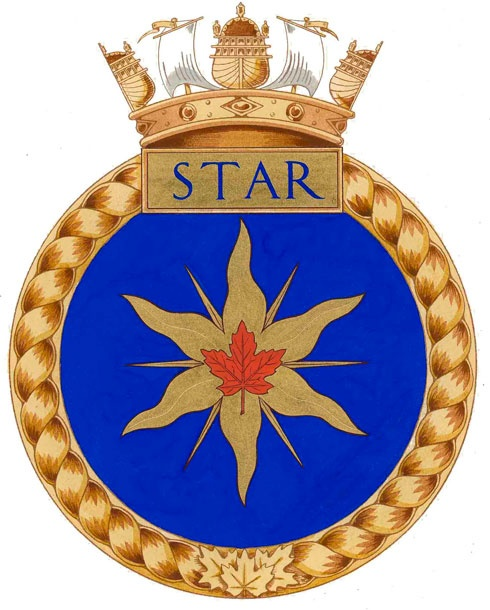 Badge of H.M.C.S. Star