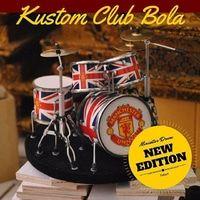 Miniatur Drum full kustom club bola | Hiasan dasbo