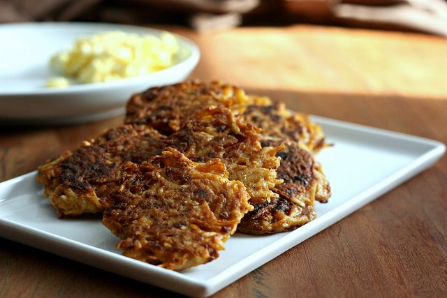Chorizo hash browns by Elly Says Opa, via Flickr