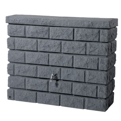 Found it at Wayfair - GRAF 105 gal. Brick Wall Rain Barrel