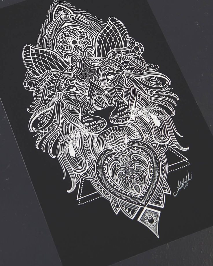 the 25 best mandala lion ideas on pinterest mandala lion tattoo lion arm tattoo and lion. Black Bedroom Furniture Sets. Home Design Ideas