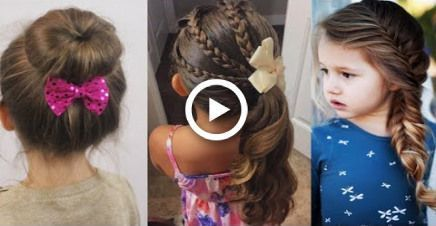Kids hairstyle ideas for school, party/cute hairstyles ideas for little kids #ha... - hairstyles - #Hairstyle #hairstyles #Ideas #Kids