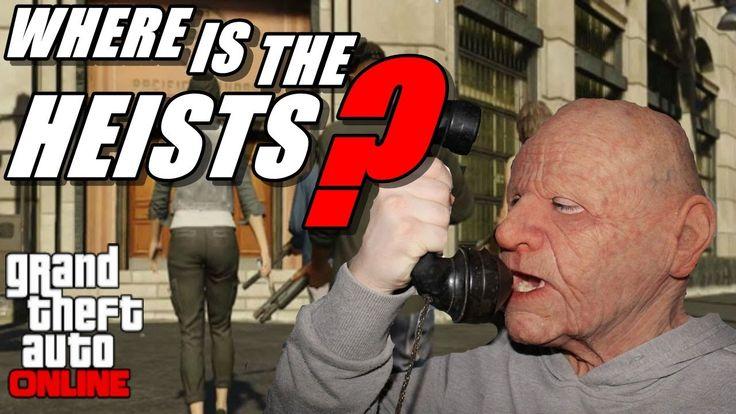 old man wants heists in gta v