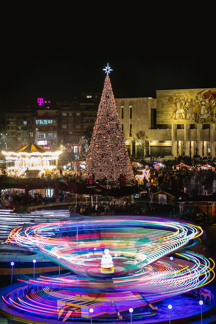 Tirana's Holiday Season - Sparkle And Spice And All Things Nice