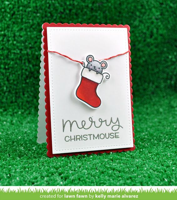 Today we are taking part in a very special blog hop with Simon Says Stamp to celebrate the return of Merry Christmouse !! Simon Says St...