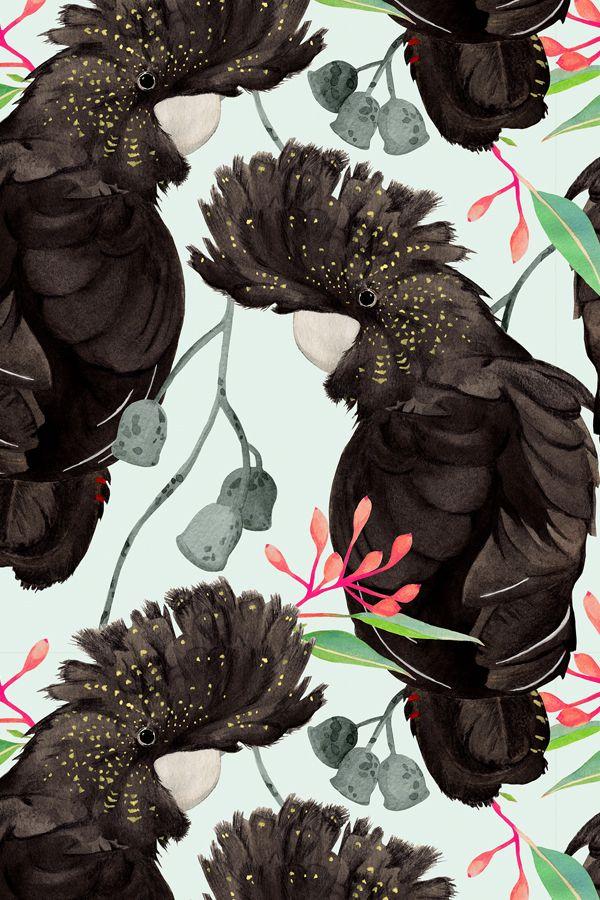 JUL | Birdlife | Colourway 1 © Louise Jones