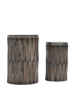 52% OFF Vertuu Design Set of 2 Durg Tables