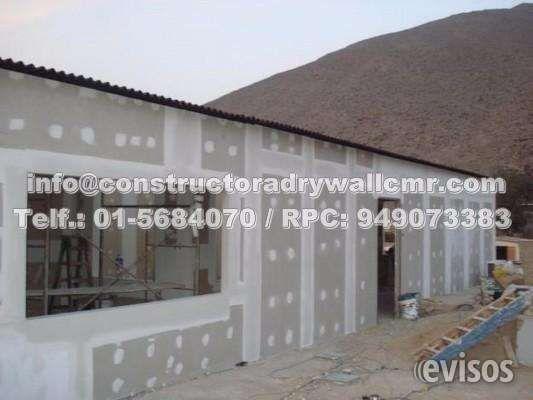 """Sistema Drywall Falsos Cielos Rasos Para Viviendas y Negocios CONSTRUCTORA DRYWALL CMR""""Ingeniería & Co .. http://lima-city.evisos.com.pe/sistema-drywall-falsos-cielos-rasos-para-viviendas-y-negocios-id-583759"""