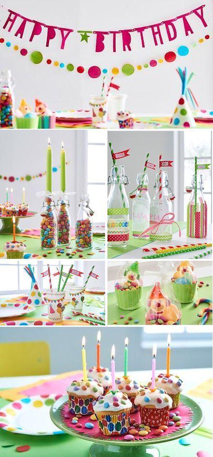 Farbenfroh, lebendig, lustig und fantasievoll – so sollte ein Kindergeburtstag…