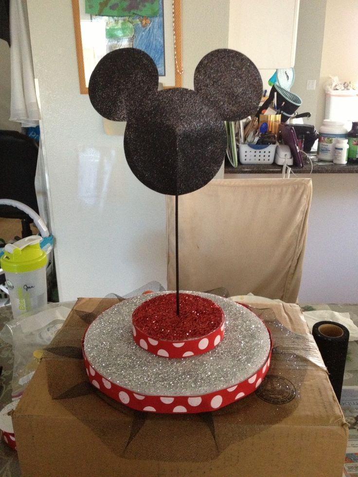 Diy Minnie Mouse Cake Pop Stand