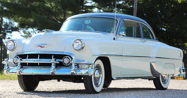 1953 Chevrolet 210 Membership Coupe with Blue Flame Six