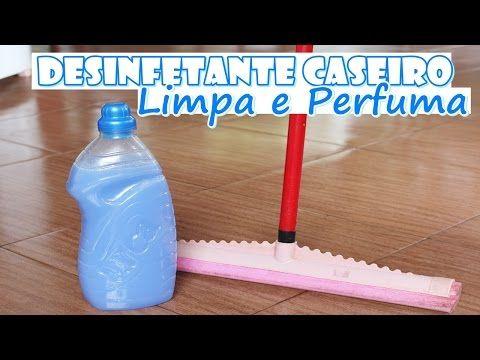DESINFETANTE CASEIRO MARAVILHOSO - LIMPA E PERFUMA! Faz em 1 minuto - Fran Adorno - YouTube