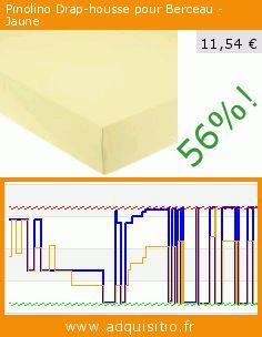 Pinolino Drap-housse pour Berceau - Jaune (Puériculture). Réduction de 56%! Prix actuel 11,54 €, l'ancien prix était de 26,40 €. https://www.adquisitio.fr/pinolino/540004-4-drap-housse