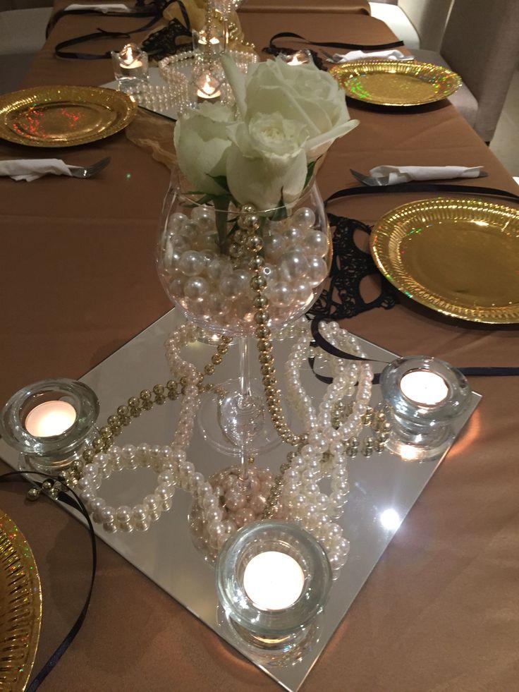 Centros de mesa en perlas y copas centros de mesa con - Centros de mesa con copas ...