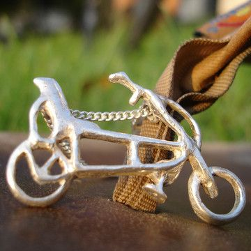 I liked this design on #Fab. Sterling Recumbent Necklace