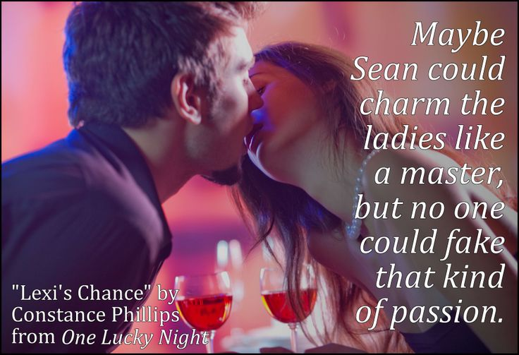 One Lucky Night, teaser from Lexi's Chance.