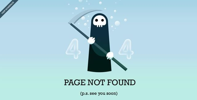 50 Examples of Creative 404 – Page Not Found Pages - via http://bit.ly/epinner