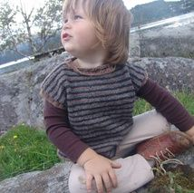 I have knitted this SUPER warm wool vest for a boy around 3years of age.Because it is 100 prosent wool,it must be washed ONLY by hand in a cool water.