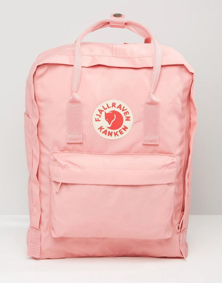 I'm liking the pastel hue on this Fjallraven Classic Kanken bag