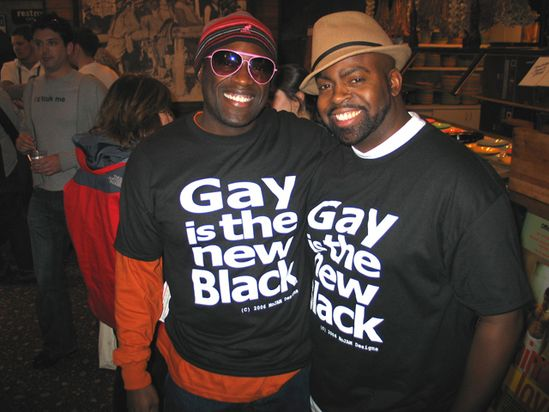 Old gay black men
