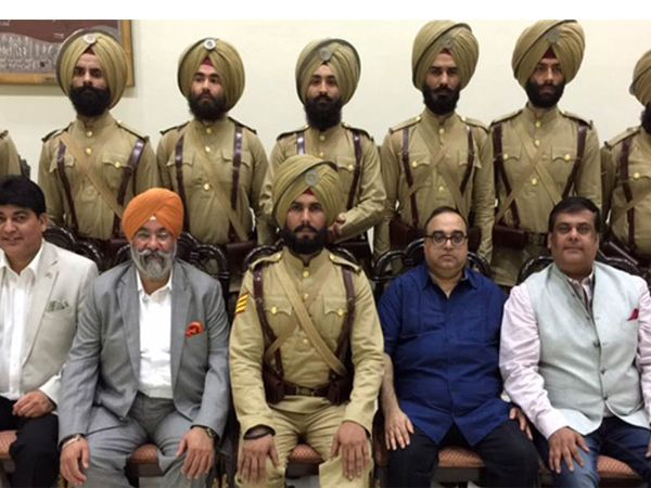 The muhurat of Randeep Hooda starrer 'Battle of Saragarhi' had 21 soldiers of…