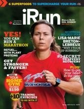 iRun Issue 02 2013 | Canadian Women's Hockey Star Lisa-Marie Breton-Lebreux shares her training plan | Super Foods | YES, you can run a Marathon