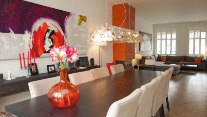 256 beste afbeeldingen over interieur muur kleuren op pinterest pastels lampen en muurkleuren - Lounge warme kleur ...