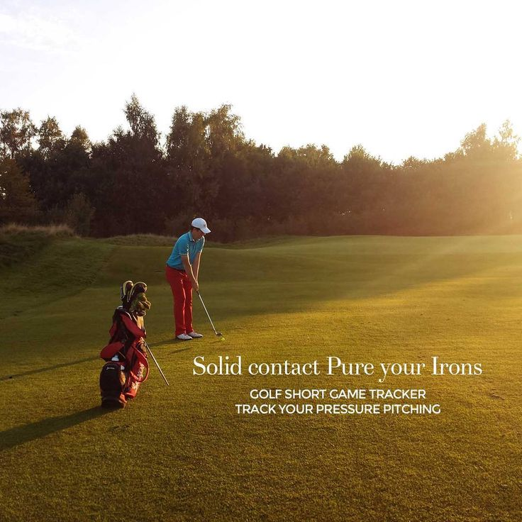 """Get pure contact? Practice your short game. Use the Golf Short Game Tracker to track you progress. Download at http://www.golfshortgametracker.com…"""