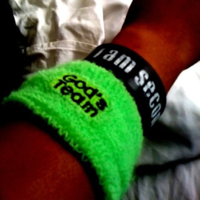 God's team wristband, I Am Second bracelet, awesome