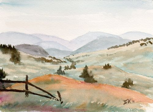 Find this Pin and more on Watercolor - Landscapes by kittycullum1.