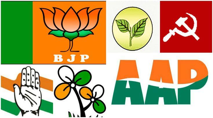 West Bengal Political Parties, list of west bengal political parties, list of political parties of best bengal, west bengal political party symbols