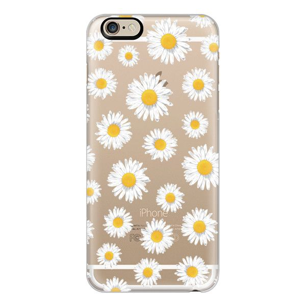 iPhone 6 Plus/6/5/5s/5c Case - DAISIES (265 DKK) ❤ liked on Polyvore featuring accessories, tech accessories, phone cases, phone, cases, iphone case, iphone cover case, slim iphone case and apple iphone cases
